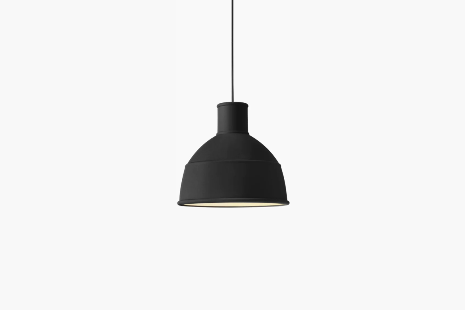 The Muuto Unfold Pendant is made of colored silicone for $9 at Design Within Reach.