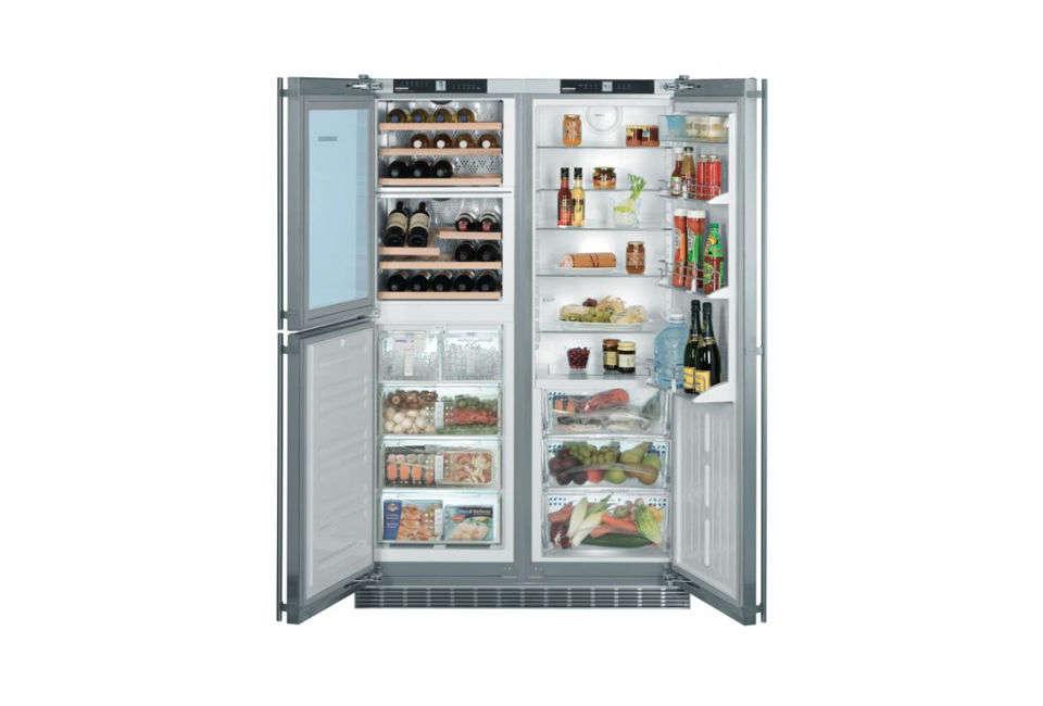 liebherr stainless steel refrigerator 12