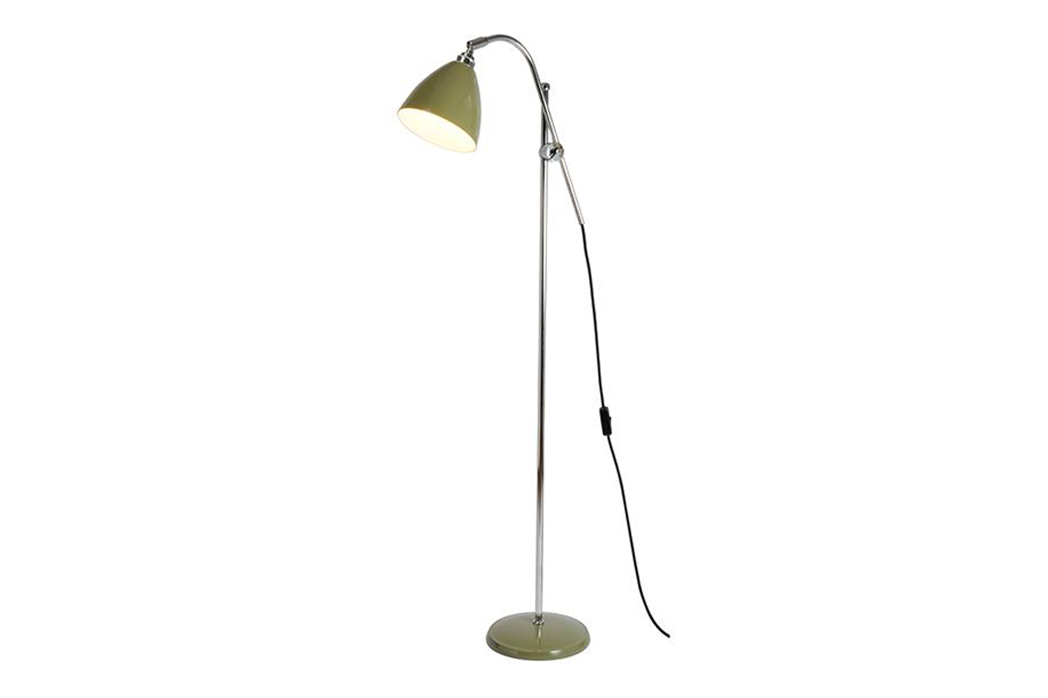 the original btc task floor lamp comes in six different colors/finishes (shown  13