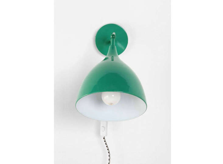 guess how much this emerald green sconce costs? 10