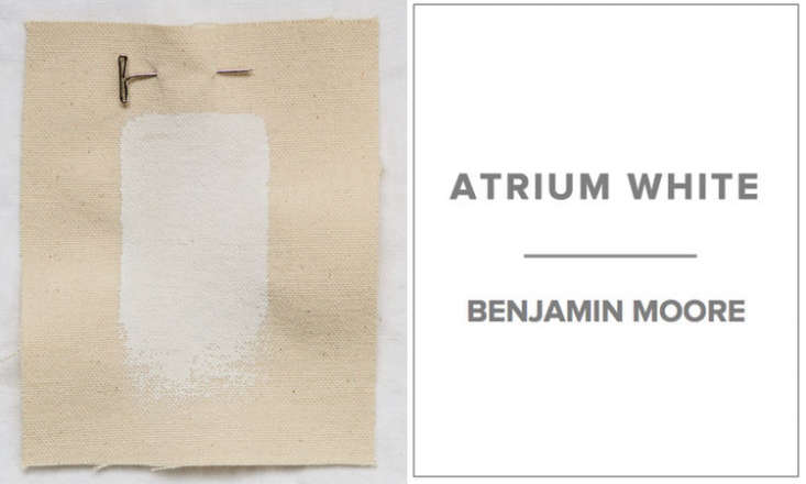 10 Easy Pieces Architects White Paint Picks A favorite white for Michielli & Wyetzner Architects in New York is Benjamin Moore Atrium White. &#8\2\20;We like it because it has a warm, almost reddish tone, as opposed to most whites, which we find either too blue, too icy, or too yellow,&#8\2\2\1; Michael Wyetzner says.