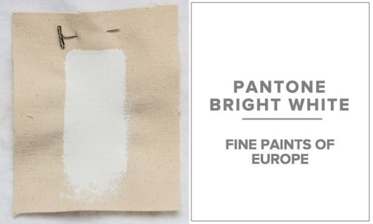 10 Easy Pieces Architects White Paint Picks Pulltab prefers Fine Paints of Europe in Pantone Bright White (Fine Paints of Europe can specify any Pantone shade); the firm also likes Benjamin Moore Snowfall White.
