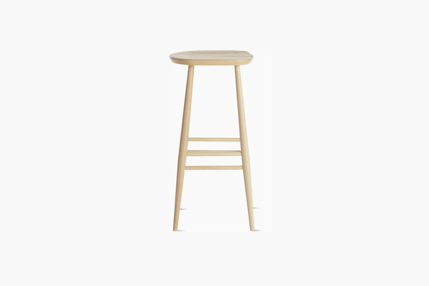 The Ercol Originals Stool is $348.50 at Design Within Reach.