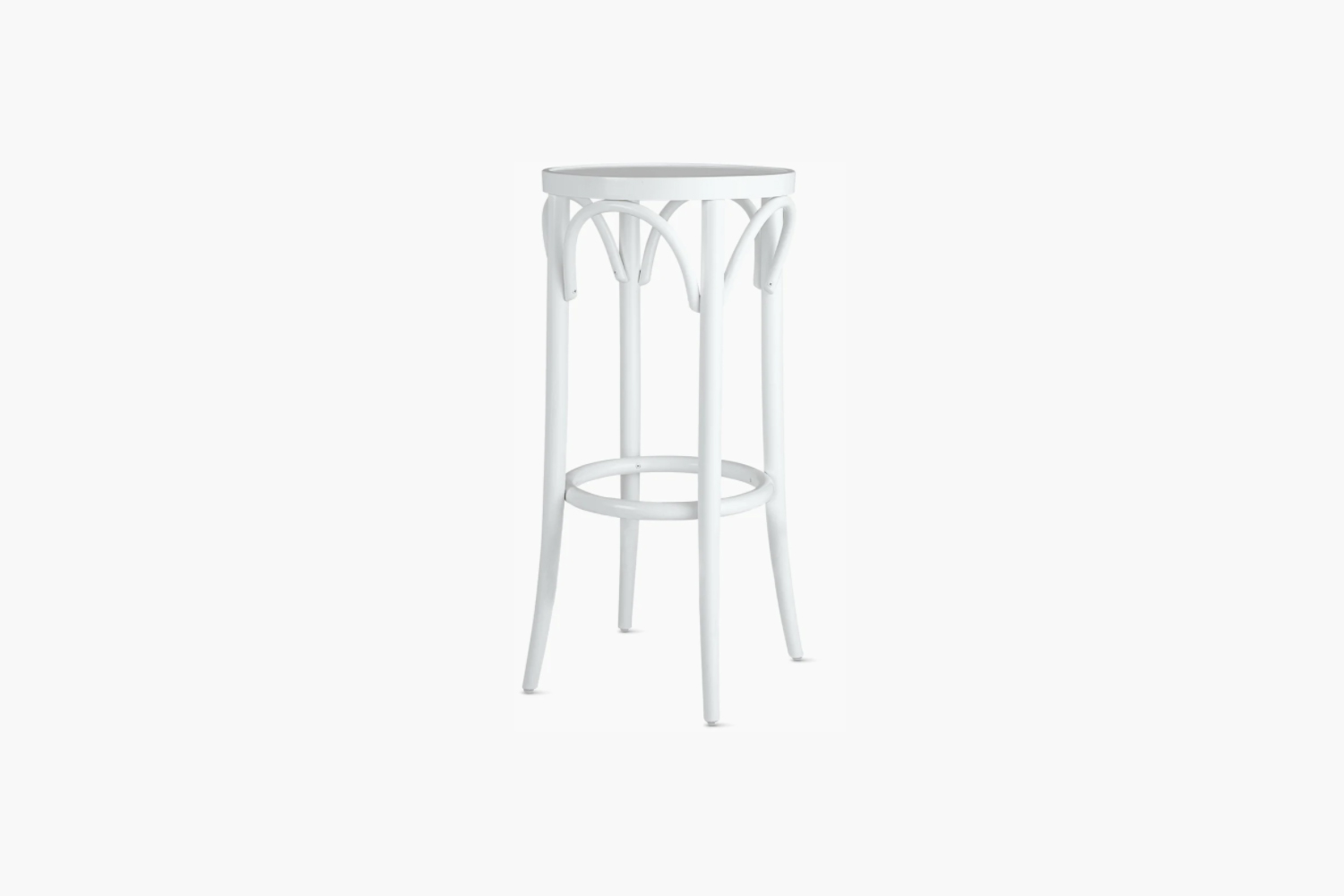 Designed by Michael Thonet, the Era Stool, shown in white, is $8. at Design Within Reach.