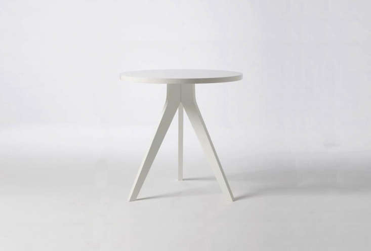 the white tripod table is from west elm for \$\199. 12