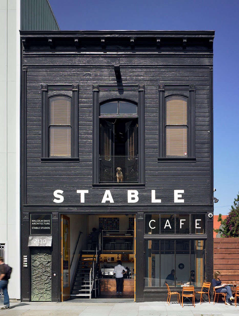 Stable CafeArchitect: Malcolm Davis ArchitectureLocation: San Francisco, CaliforniaPhotographer: Bruce Damonte