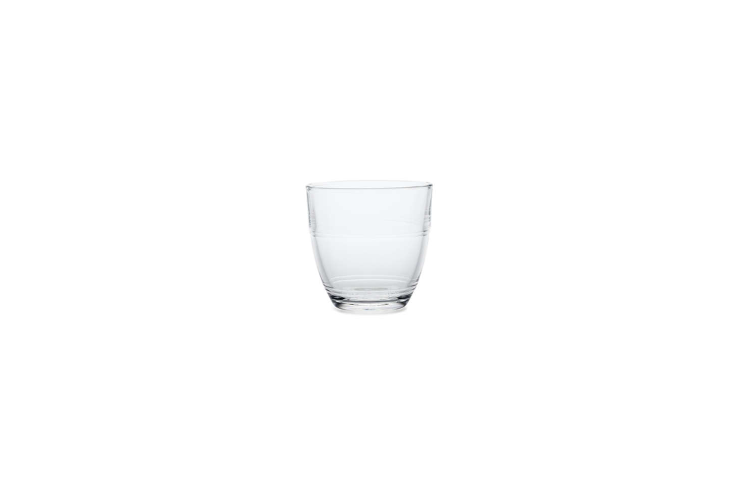 Made in France (and virtually indestructible), the Gigogne Glass by Duralex is available as a set of src=