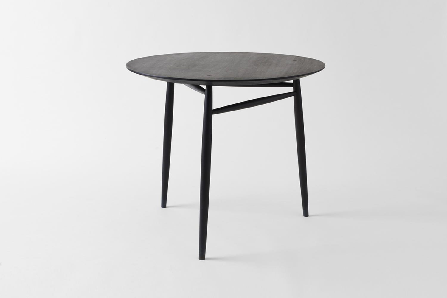From Sawkille Co., the Ebonized Black Walnut Spindle Table is $5,000 at March.