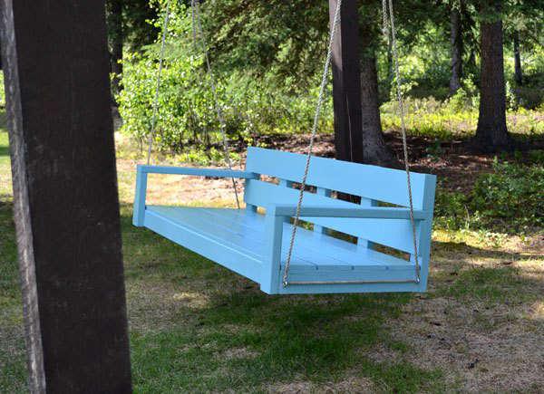hanging swing bench plans 1