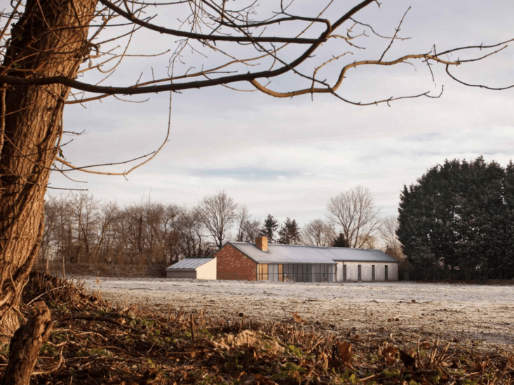 A Stable Reborn in Rural Norfolk The Stable Acre project in late fall.
