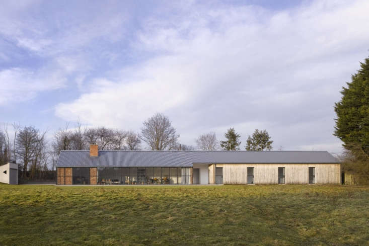 A Stable Reborn in Rural Norfolk Kohn used purpleheart cladding reclaimed from a Thames pier on the house&#8\2\17;s exterior.