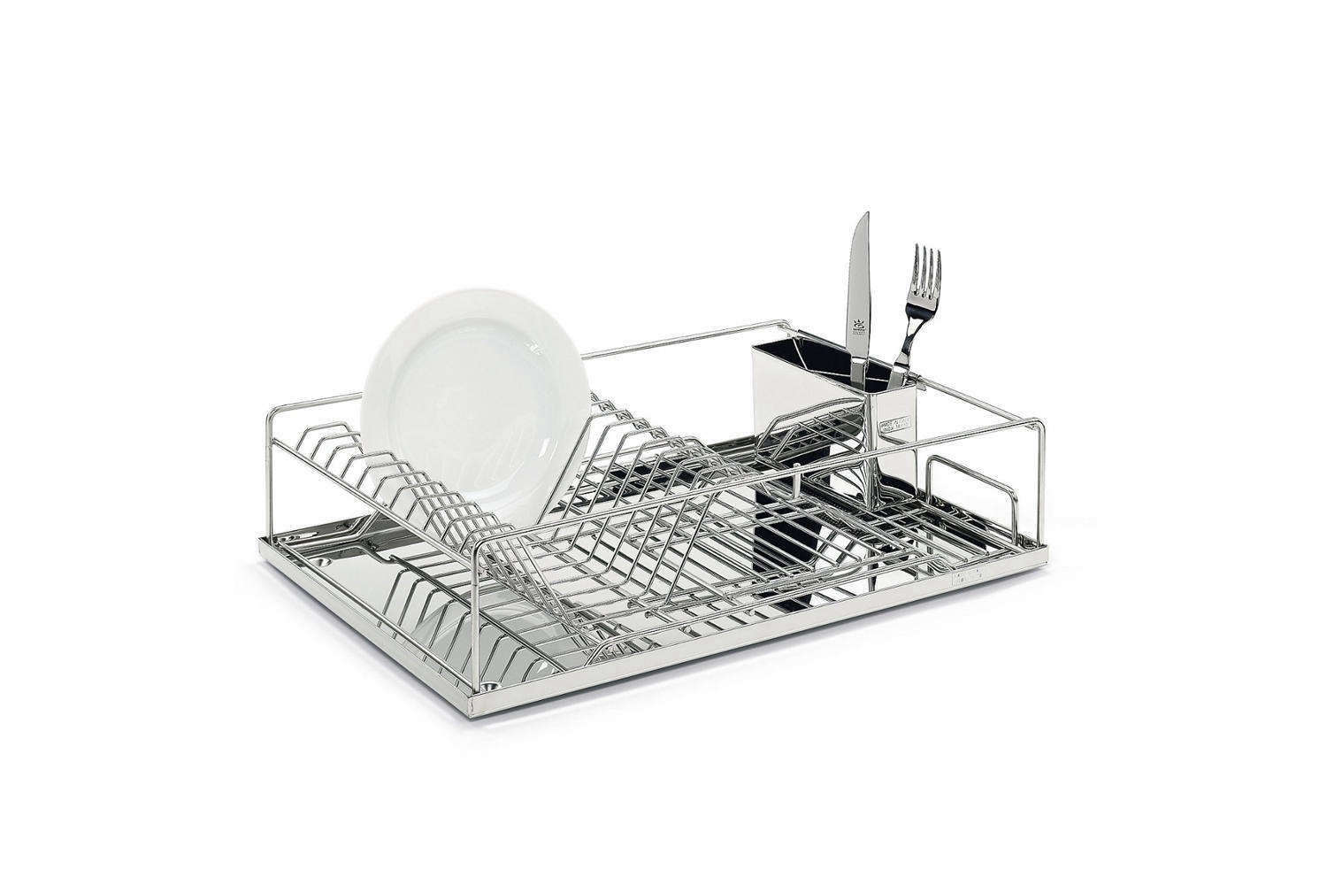 For those looking for the Mercedes of dish racks, the Stainless Steel Draining Rack isn&#8