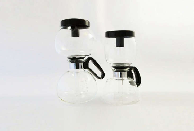 TheYama Vacuum Brewer is a stovetop model from Japan. It is a utilitarian vacuum-siphon brewer that can stand up to daily use; $50 for the five-cup size and $55 for the eight-cup size at Sweet Maria&#8