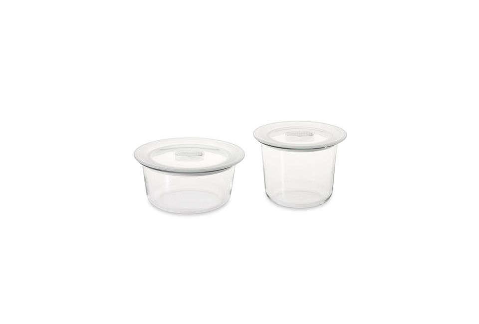 Bormioli Rocco Round Glass Food Storage Containers