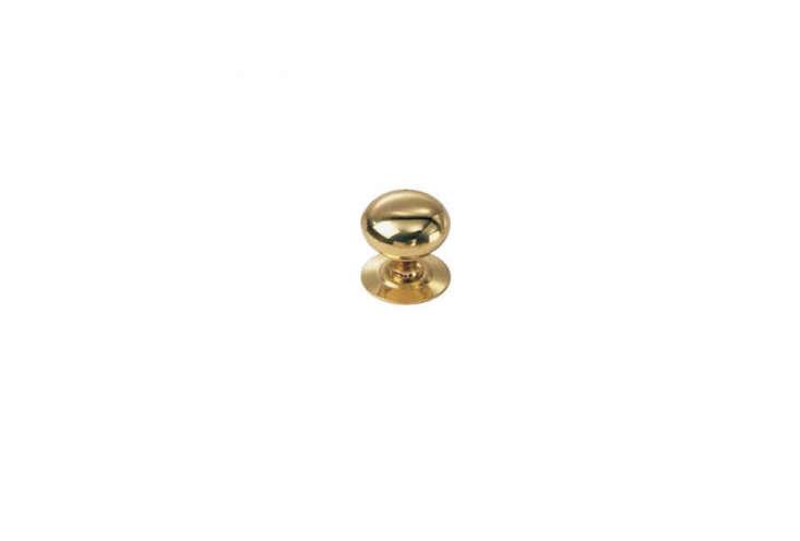 laurey 443 solid brass knob in gold 9