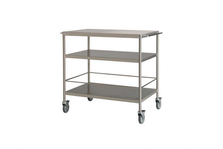 10 Easy Pieces Instant Kitchen Islands The Ikea Flytta Kitchen Cart in Stainless Steel is \$\179.