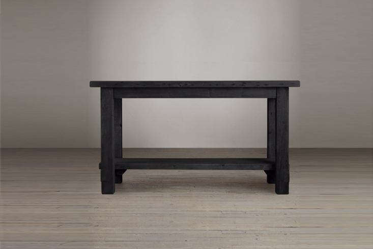 The Salvaged Wood Kitchen Island is made from solid pine timbers and is available in a range of sizes; prices start at $