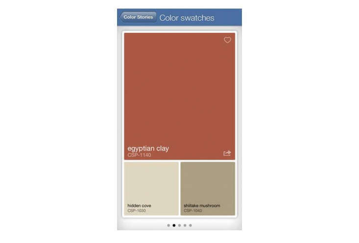 Paint manufacturers have jumped on the bandwagon with paint color apps that are fun and inspiring. Benjamin Moore&#8