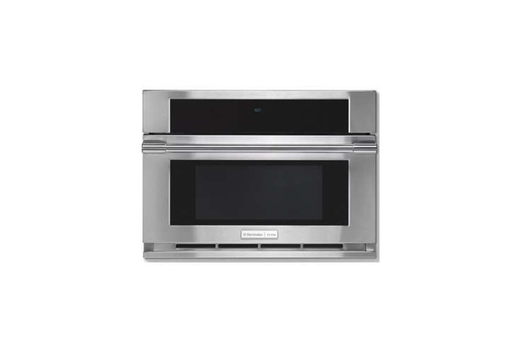 10 Easy Pieces Builtin Microwaves The Electrolux Icon Professional Built in Microwave with a drop down door offers sensor and convection cooking modes; \$\1,703.\10 at AJ Madison.