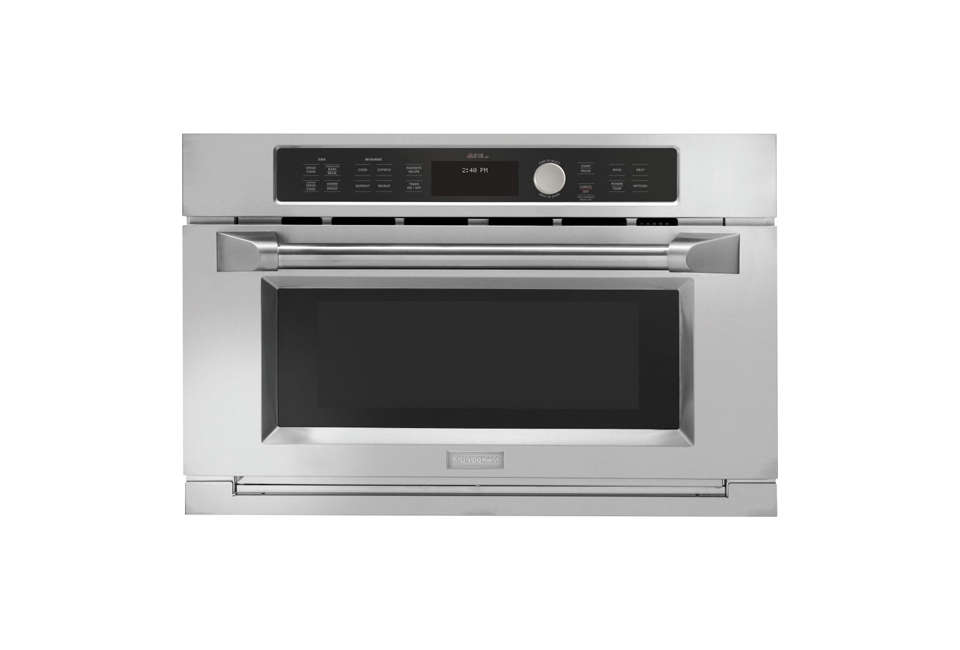 The GE Monogram Oven with Speedcook Technology.