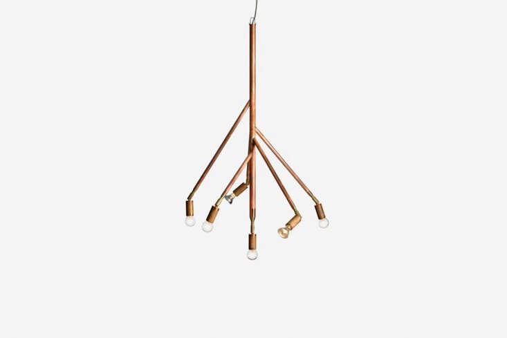 jonas bohlin&#8\2\17;s pendantlamp kvist 6 is also made of raw copper; � 14