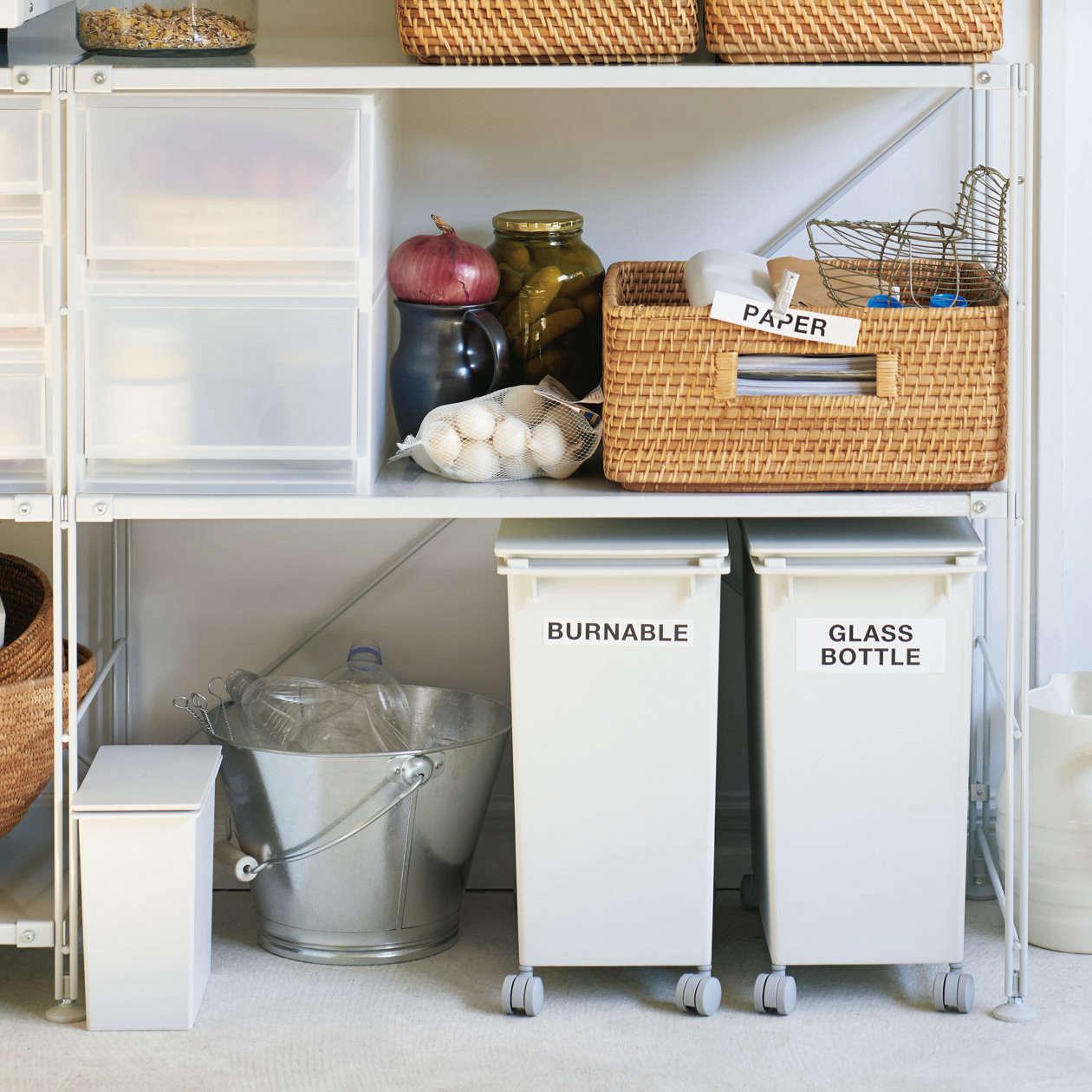 muji pp stackable dust bins 18