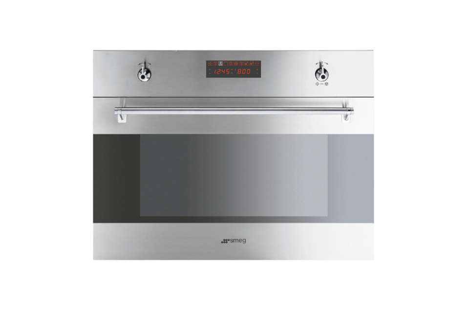 The Smeg Built-In Speed Oven.