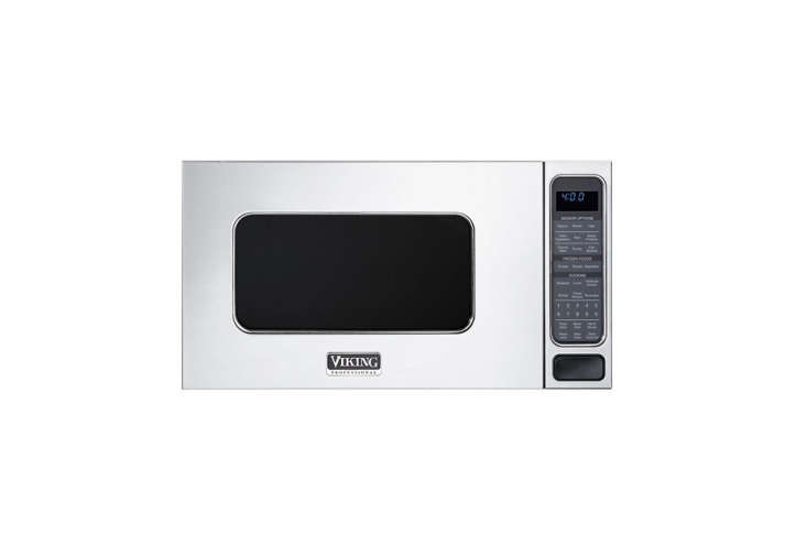 10 Easy Pieces Builtin Microwaves To complement your other Viking and SubZero appliances, the Viking \2.0 Cubic Foot Professional Custom Series Microwave is a countertop model that is available with a built in trim kit.; \$7\29 at Plessers, trim kit \$380.