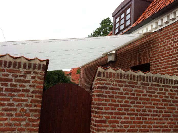 custom garden sails from trimm copenhagen; prices start at €68 (\$77.06). 15