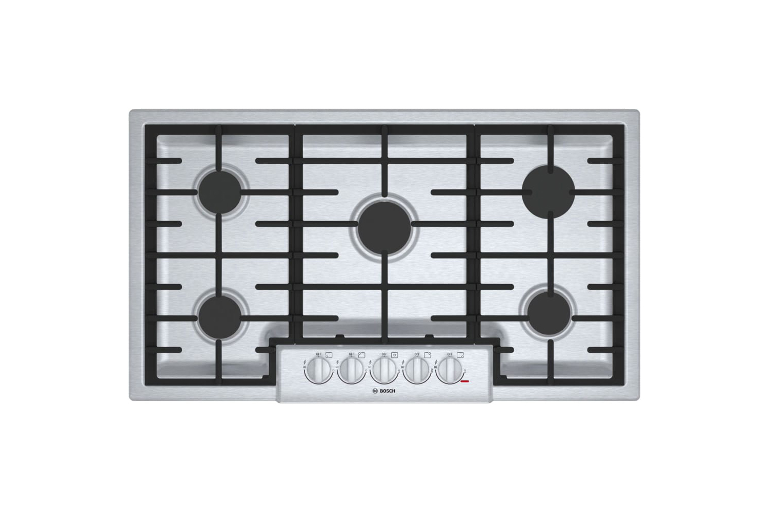 the bosch 800 series 36 inch gas cooktop (ngm8656uc) is \$\1,\299 at aj madison. 11