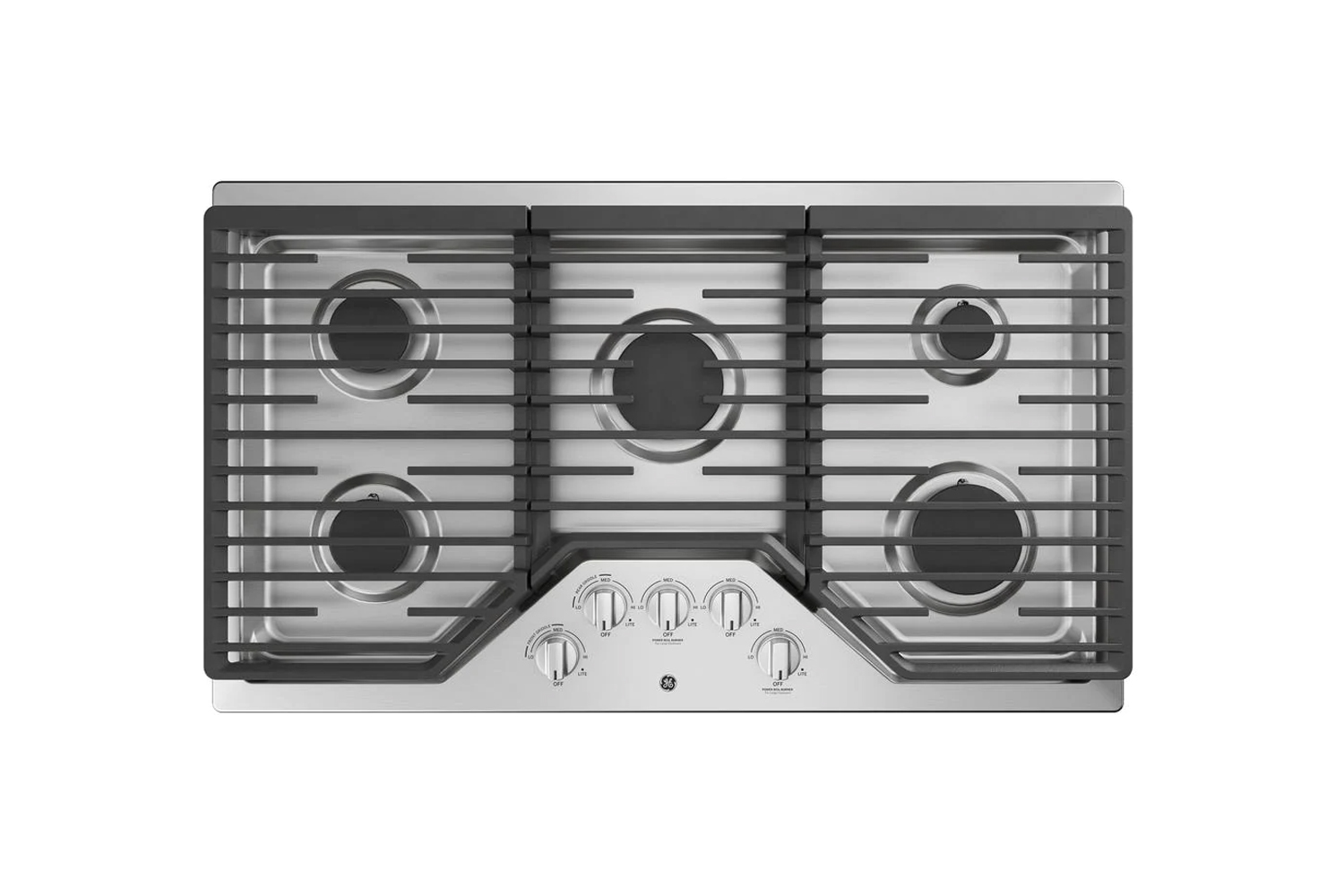 the ge 36 inch gas cooktop is \$\1,\199 at home depot. 16