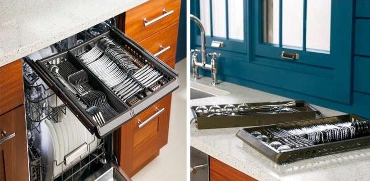 ge monogram dishwasher blue kitchen 2