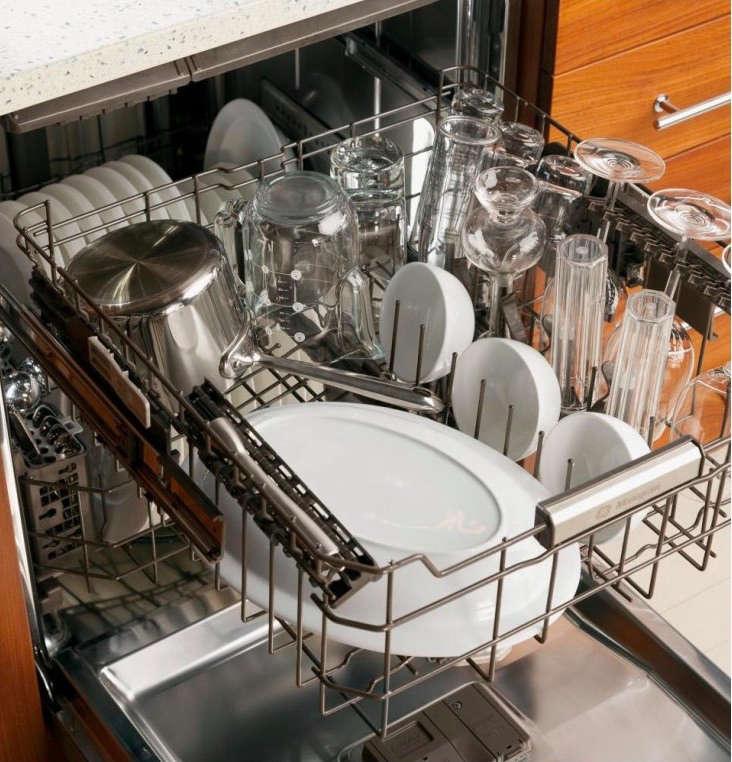 ge monogram dishwasher detail