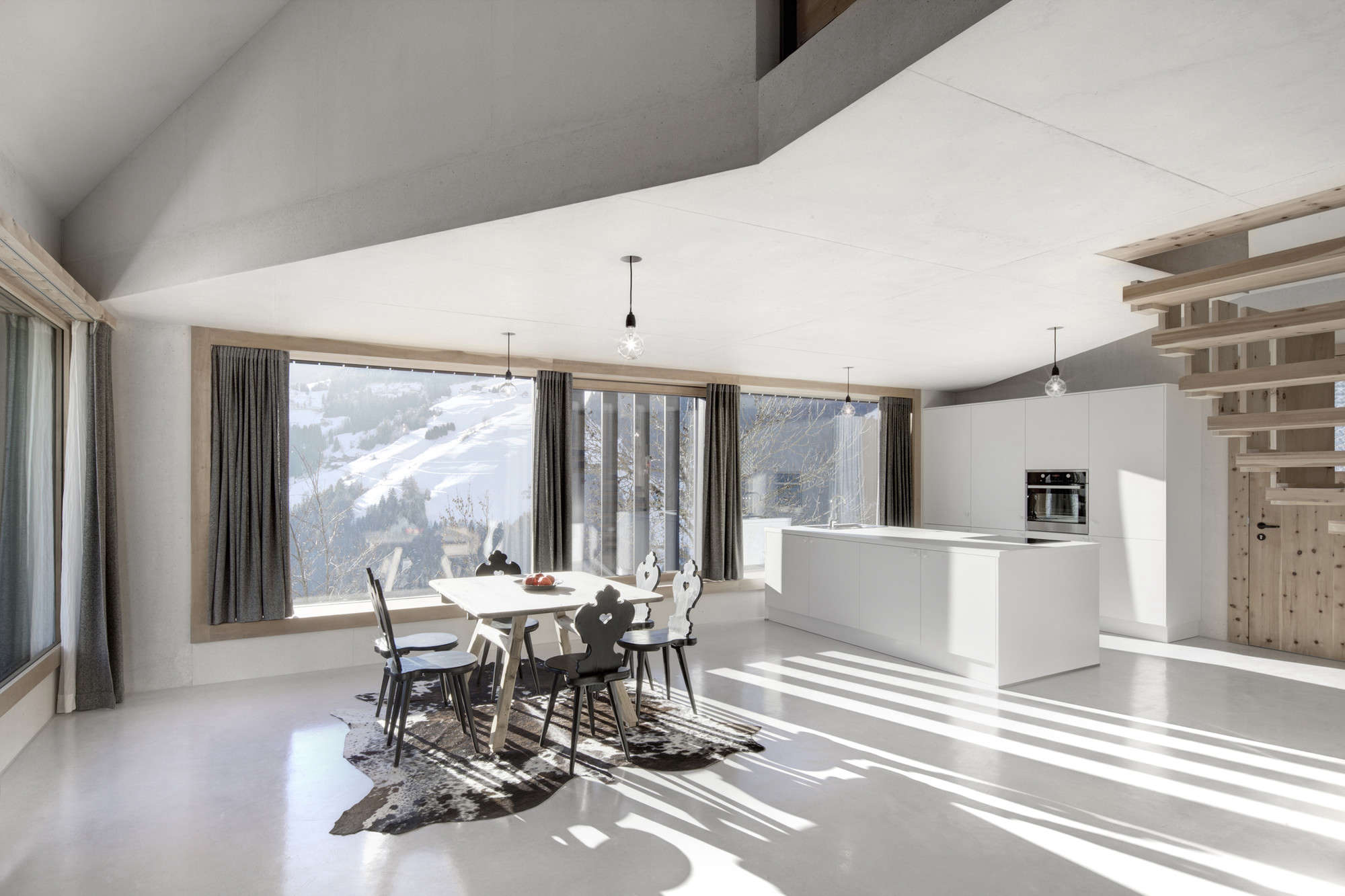A Holiday House in the Italian Alps.