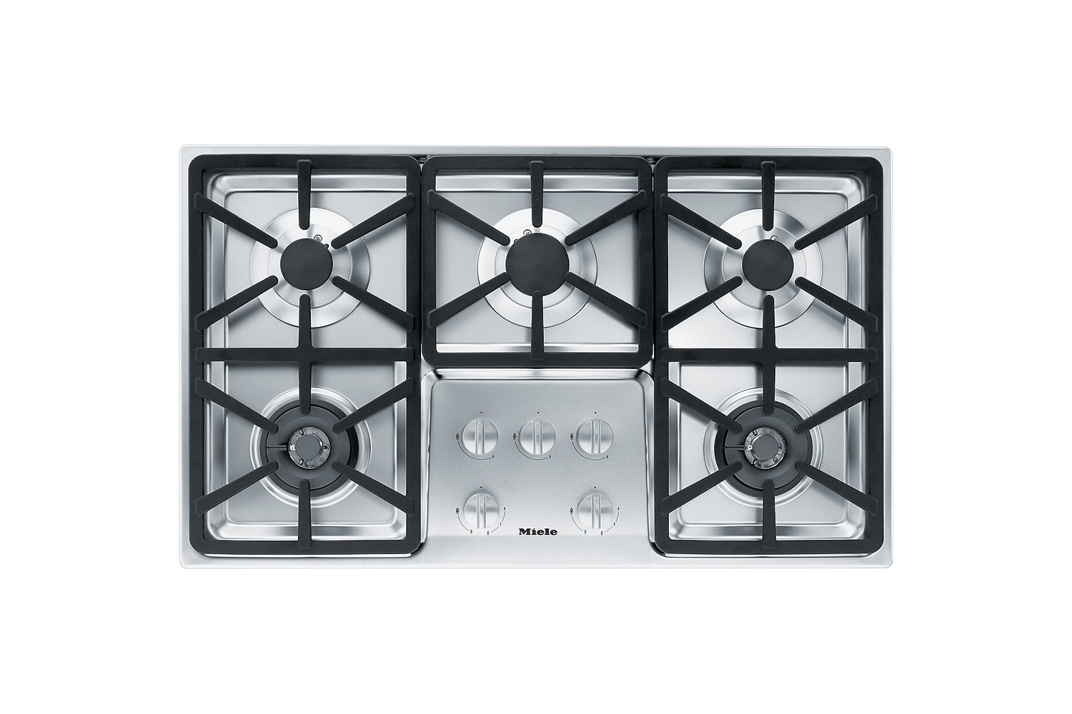 the miele 36 inch stainless gas cooktop (km3474g) is \$\2,099 at abt. 14