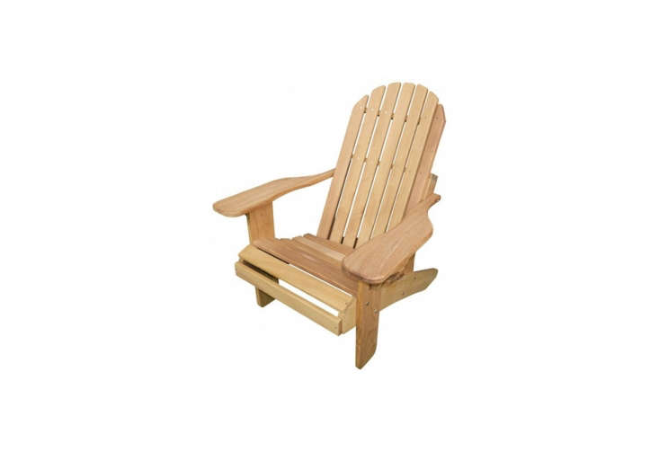 Object Lessons The Adirondack Chair The Muskoka Hardware Chair in Iroko, a type of African hardwood, is £\190 (\$\24\2 USD) is one Adirondack chair among many available at Adirondack Outdoors.