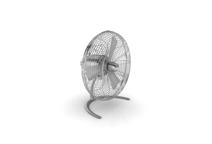thecharly little fan from swizz style/stadler form is \$\149.99 at bed, bath  13
