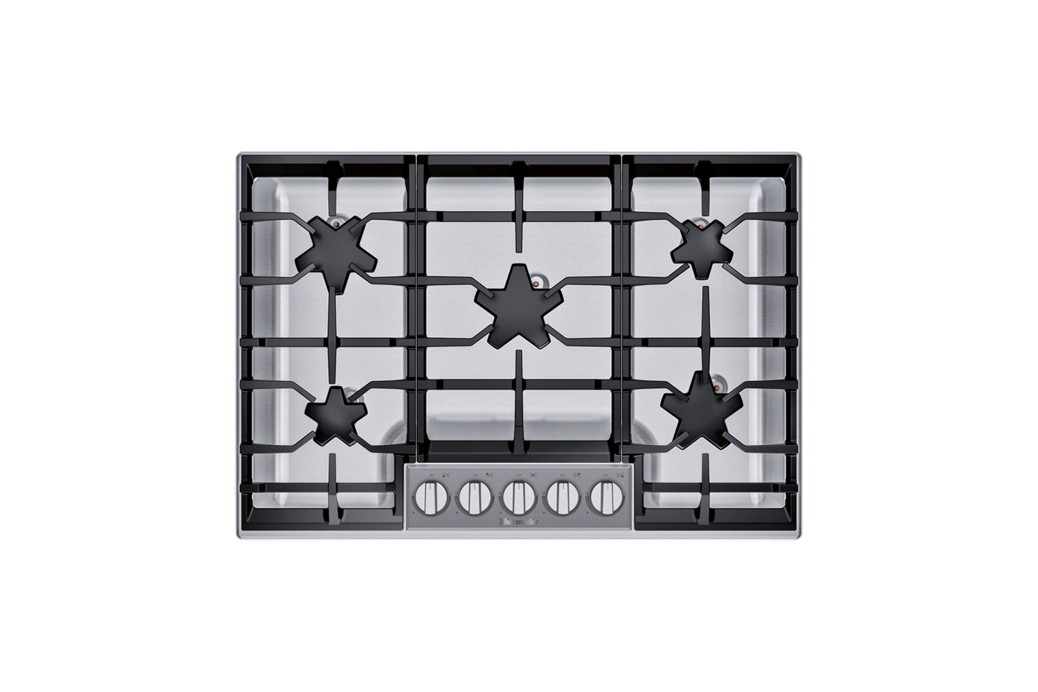 the thermador masterpiece series 36 inch built in gas cooktop (sgsp365ts) is \$ 9