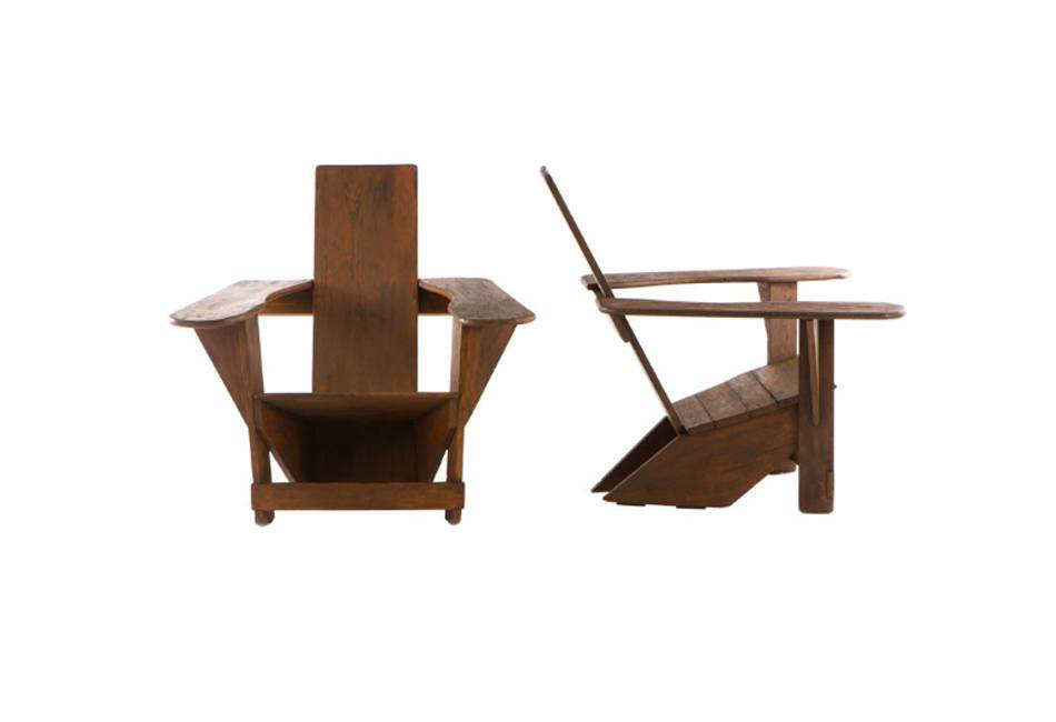 The Spruce Point Inn in Maine offers the hotel's cypress Westport Adirondack Chairsin a ready-to-assemble kit for $495. A child-sized version is available for $349. You can source vintage versions like these above on src=