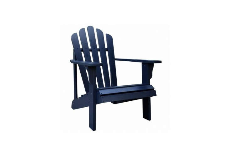 Object Lessons The Adirondack Chair Shine Company&#8\2\17;sWestport Adirondack Chairs come in a range of colors—shown in Aqua—available for \$\137.\24 each on Amazon.