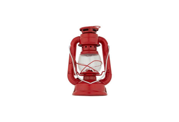 The Stansport Eight-Inch Hurricane Lantern is $.03 at Target.
