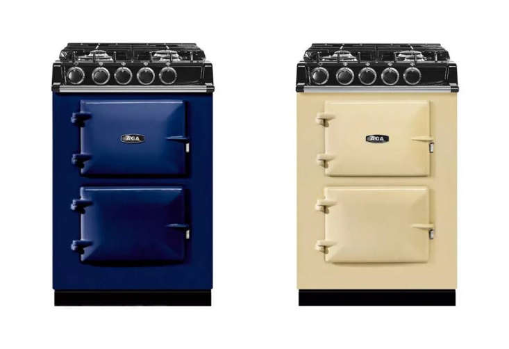 Object Lessons The Great British Range Cooker The compactAGA Companionisjust \24 inches wide and has four sealed burners, a slow cook oven, and a roasting oven; \$8,999 at A. J. Madison.