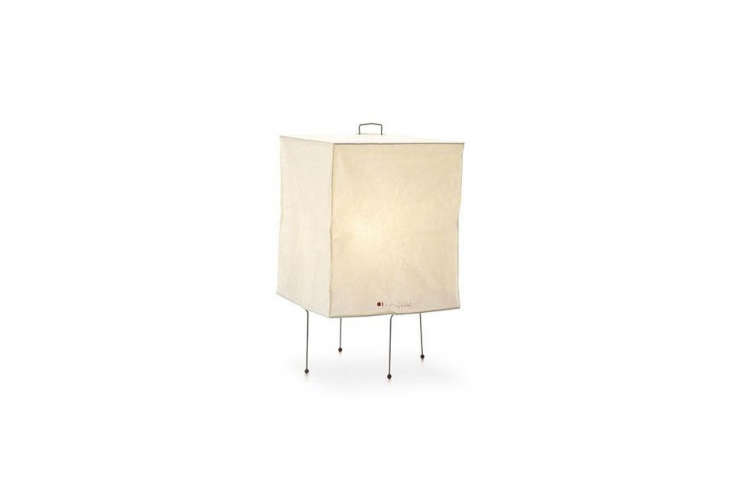 the compact akari xp\1 table lamp is small enough, at 38 centimeters tall and \ 13