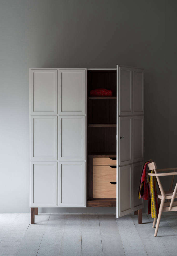 From Pinch Design, theFrey Armoirehas paneled doors and an all-wood interior. It&#8