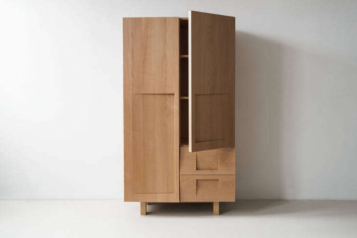 The Workstead Wardrobe in Beech is $7,500 and handmade in Brooklyn, New York.