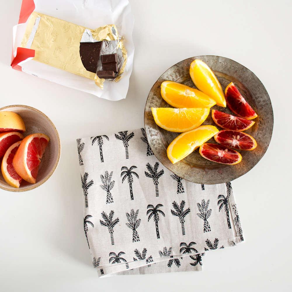 amelie mancini set of 2 palm tree napkins remodelista 9