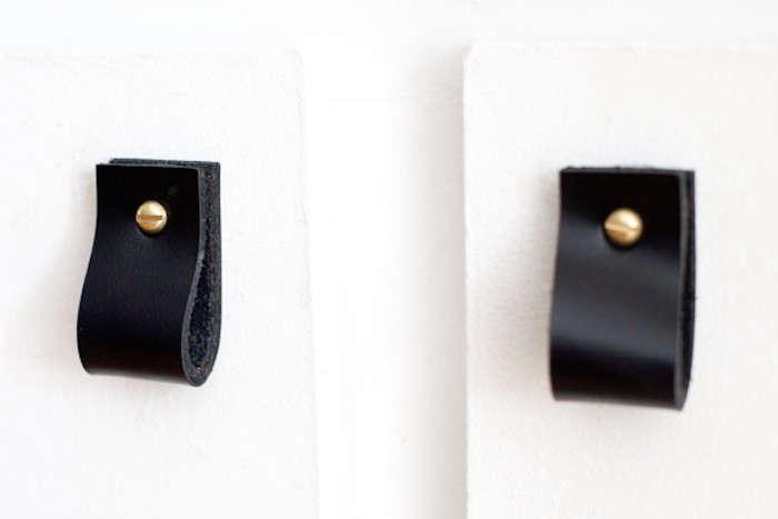 Black Leather Handles Behance