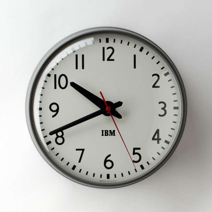 Object Lessons The Classic IBM Wall Clock portrait 3