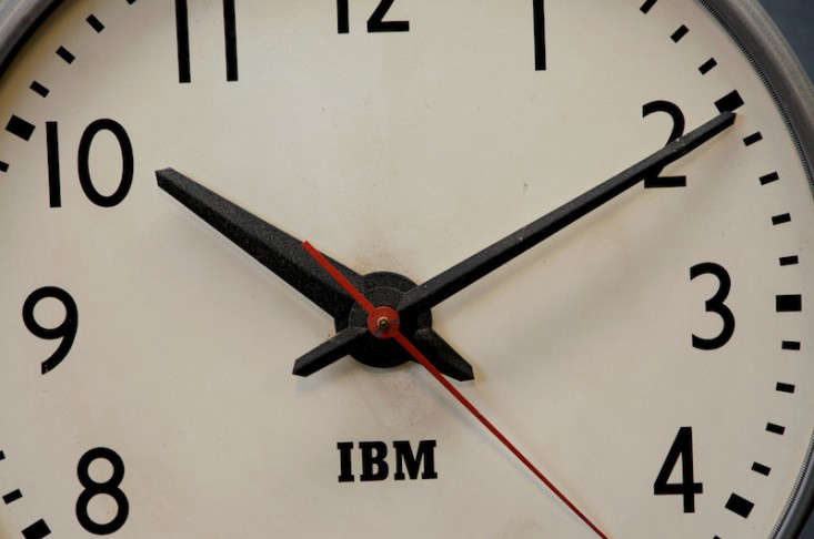 Object Lessons The Classic IBM Wall Clock portrait 4
