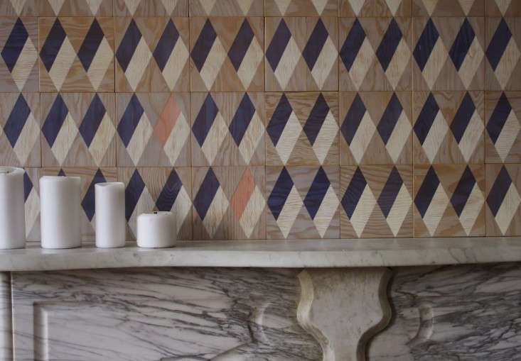 Plywood is much appreciated for its versatility. In DIY: Tiles for Commitment Phobes, Moonish of Brooklyn silk screen geometric patterns on plywood tiles.